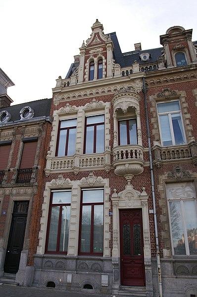 Photo du Monument Historique Hôtel particulier situé à Roubaix
