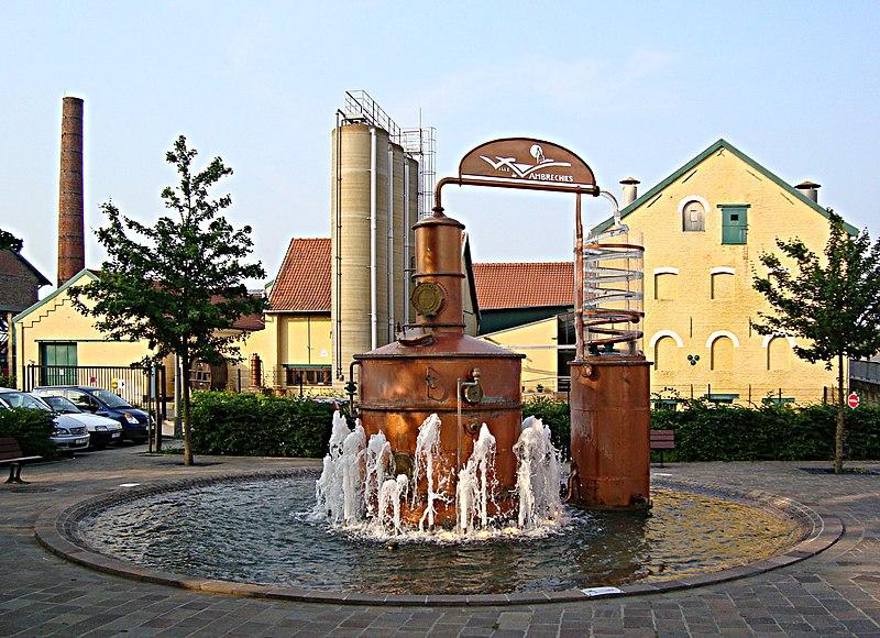 Photo du Monument Historique Distillerie Claeyssens situé à Wambrechies