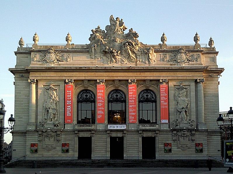 Photo du Monument Historique Opéra de Lille situé à Lille