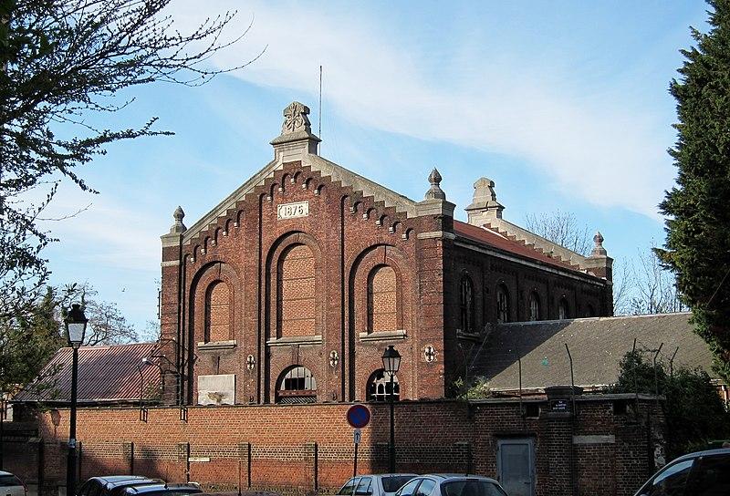 Photo du Monument Historique Usine élévatoire de Saint-André situé à Lille