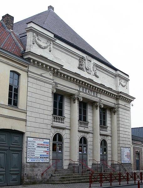 Photo du Monument Historique Théâtre municipal situé à Douai