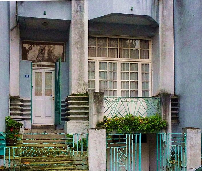 Photo du Monument Historique Maison d'habitation Art-Déco situé à Lambersart