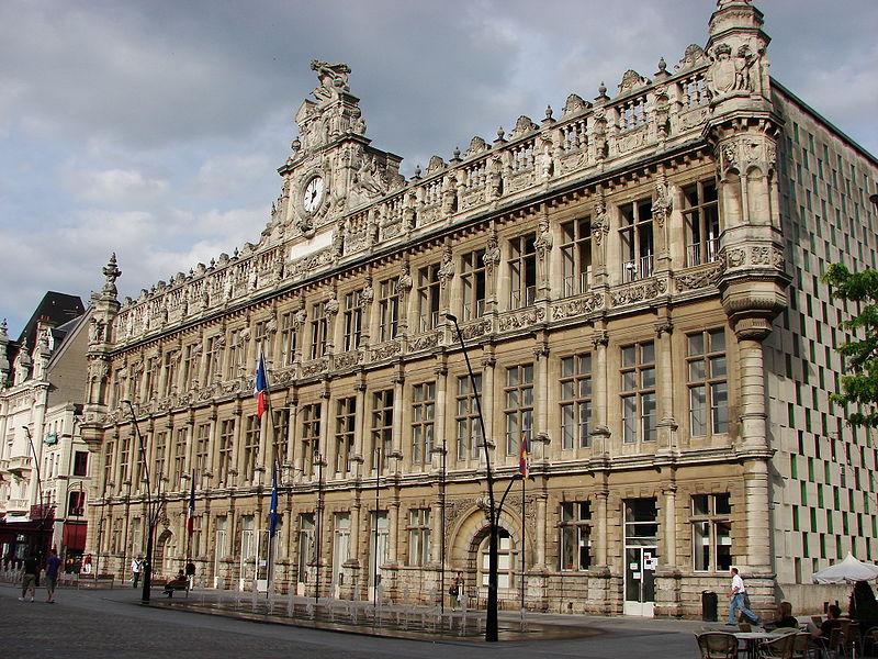 Photo du Monument Historique Hôtel de ville situé à Valenciennes