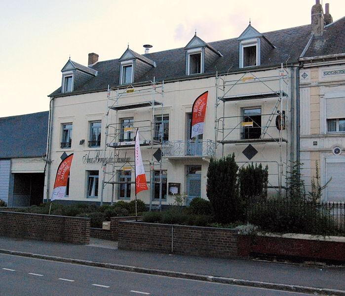 Photo du Monument Historique Maison natale du peintre Félix del Marle situé à Pont-sur-Sambre