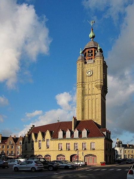 Photo du Monument Historique Beffroi situé à Bergues