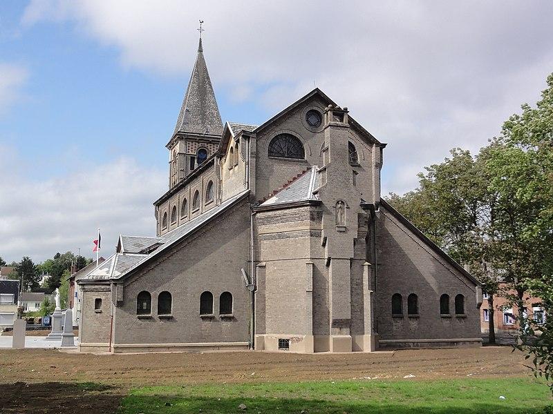 Photo du Monument Historique Eglise Saint-Martin dite Notre-Dame des Glaces situé à Boussois