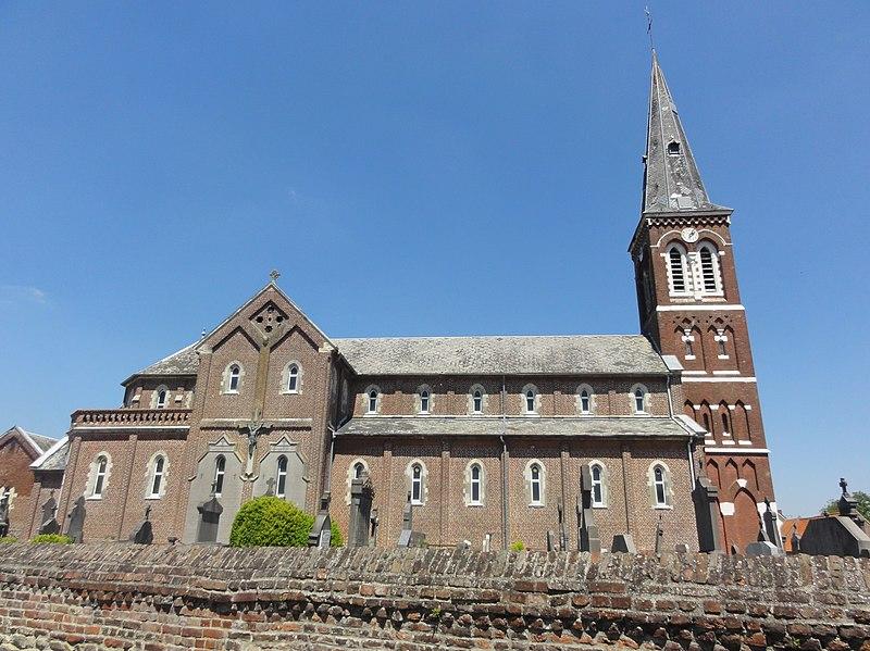 Photo du Monument Historique Eglise Saint-Martin situé à Masny