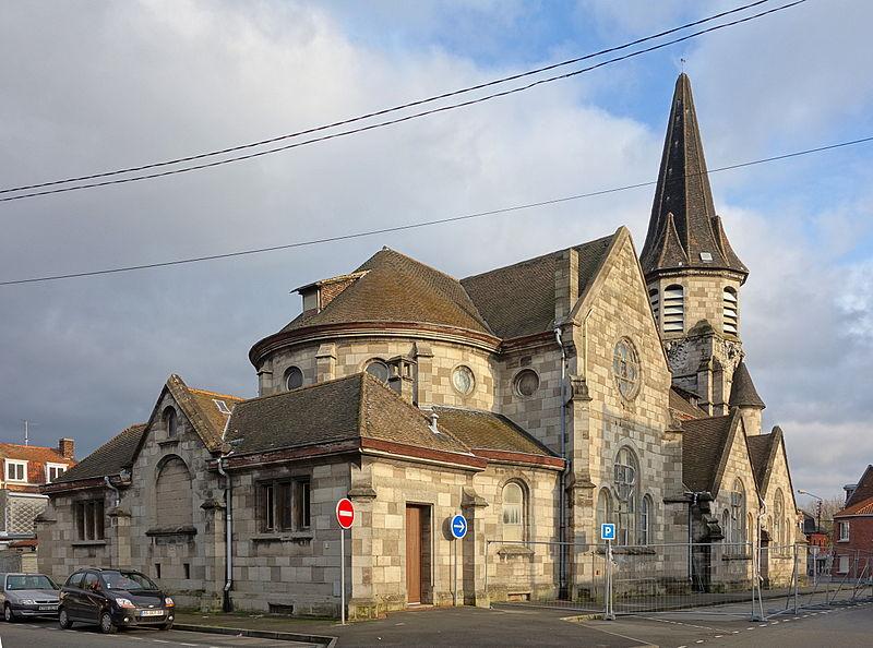 Photo du Monument Historique Eglise Sainte-Thérèse de l'Enfant-Jésus situé à Wattrelos