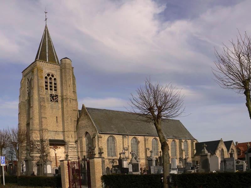 Photo du Monument Historique Eglise Saint-Omer situé à Bambecque