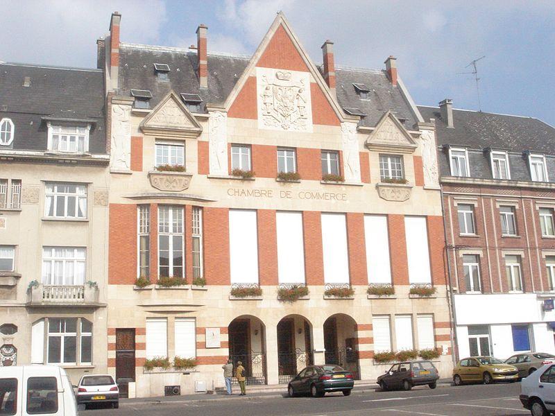 Photo du Monument Historique Hôtel consulaire de la Chambre de Commerce et d'Industrie de Cambrai situé à Cambrai