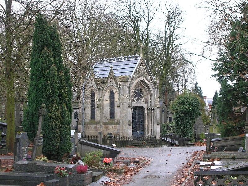 Photo du Monument Historique Chapelle de la famille Gonnet, située au cimetière de l'Est situé à Lille