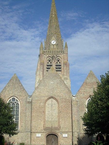 Photo du Monument Historique Eglise Notre-Dame de l'Assomption situé à Warhem