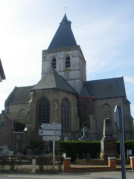 Photo du Monument Historique Eglise Saint-Omer situé à Zegerscappel