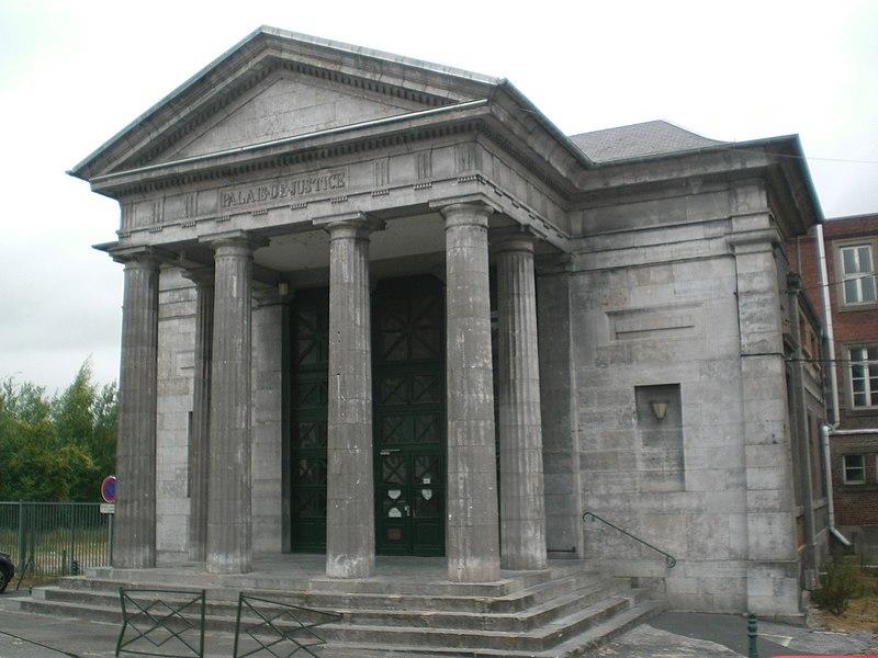 Photo du Monument Historique Ancien palais de Justice situé à Avesnes-sur-Helpe
