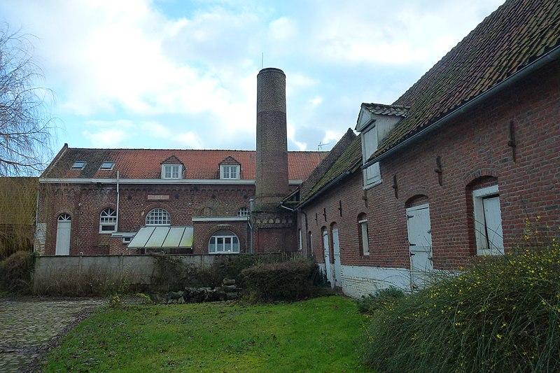 Photo du Monument Historique Ferme de Meurchin situé à Sailly-lez-Lannoy