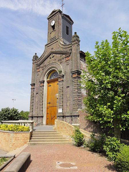 Photo du Monument Historique Eglise Sainte-Barbe situé à La Sentinelle