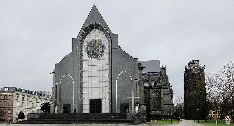 Photo du Monument Historique Cathédrale Notre-Dame de la Treille situé à Lille