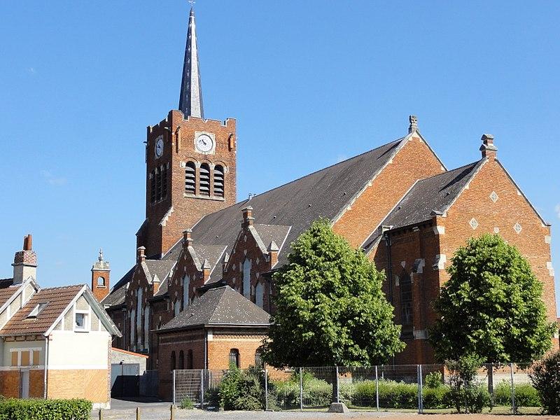 Photo du Monument Historique Eglise Notre-Dame des Mineurs situé à Waziers