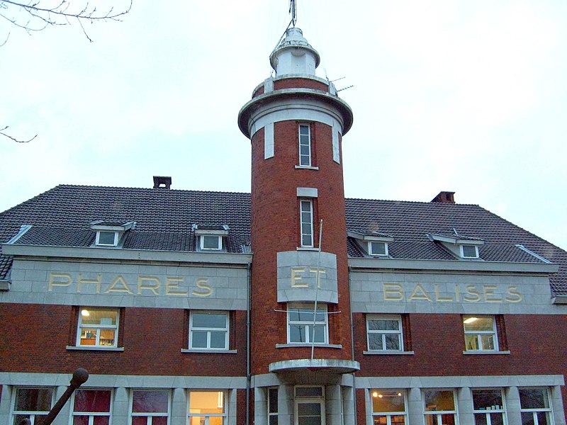 Photo du Monument Historique Bâtiment de la Subdivision des Phares et Balises situé à Dunkerque