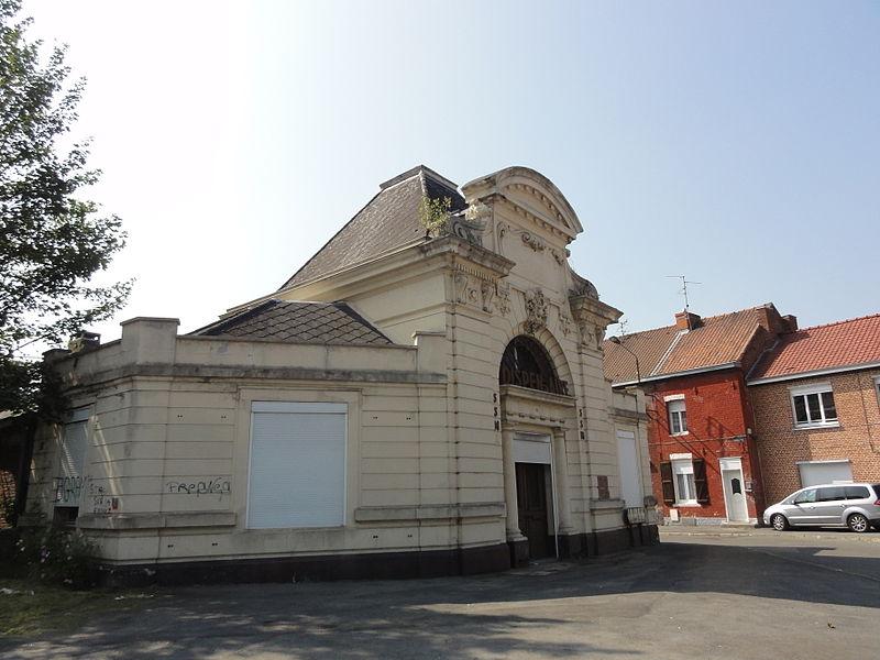 Photo du Monument Historique Anciens bureaux de la compagnie de mines de Thivencelles et Fresnes-Midi situé à Fresnes-sur-Escaut