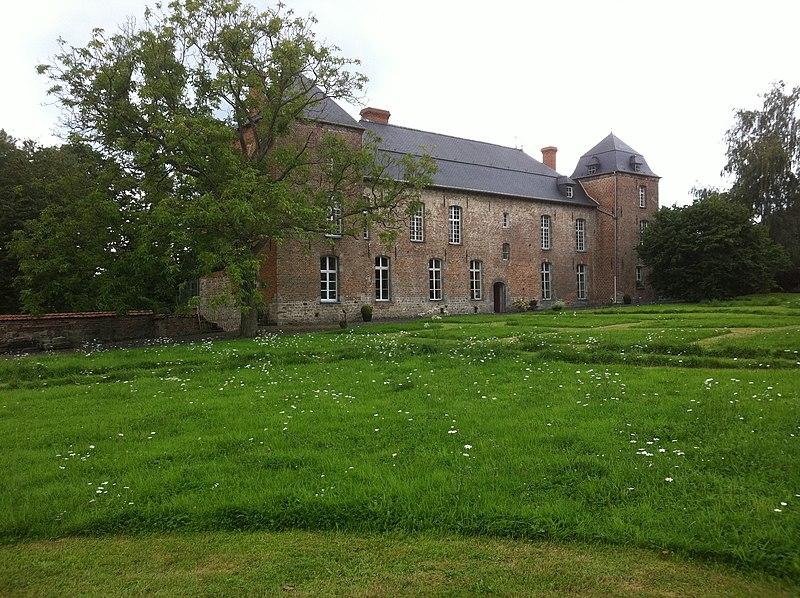 Photo du Monument Historique Château d'Obies situé à Obies