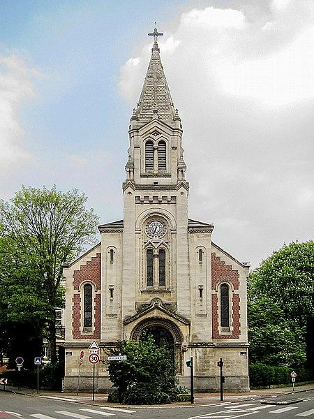 Photo du Monument Historique Temple protestant situé à Lille