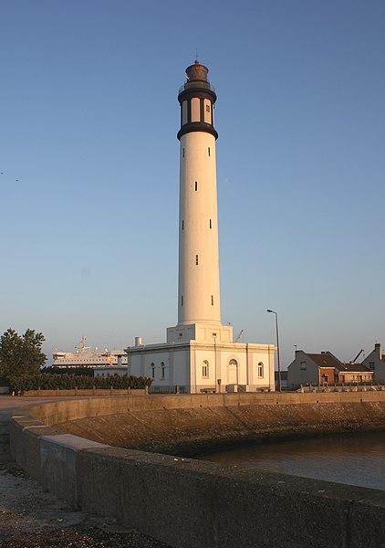 Photo du Monument Historique Phare du Risban situé à Dunkerque