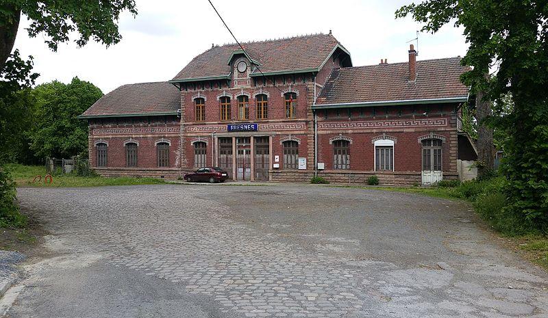 Photo du Monument Historique Ancienne gare des houillères situé à Fresnes-sur-Escaut