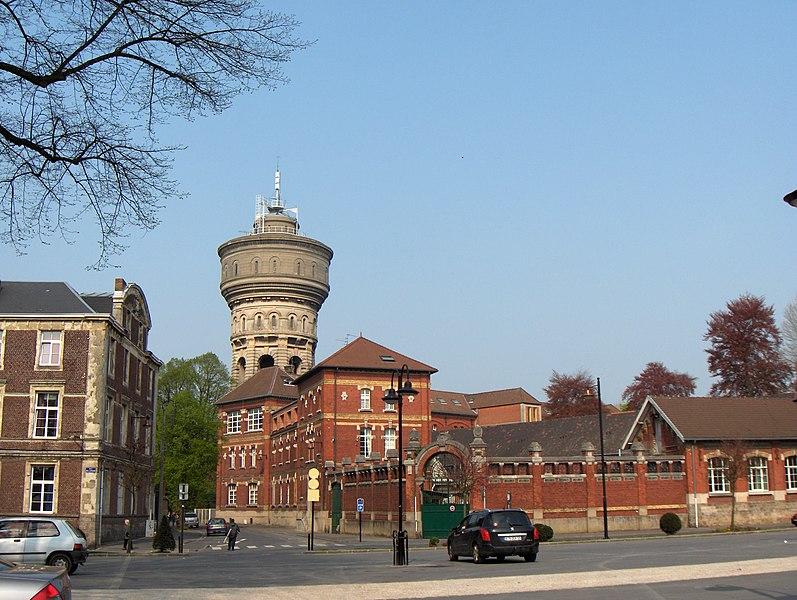 Photo du Monument Historique Château d'eau de la Place Verte situé à Valenciennes
