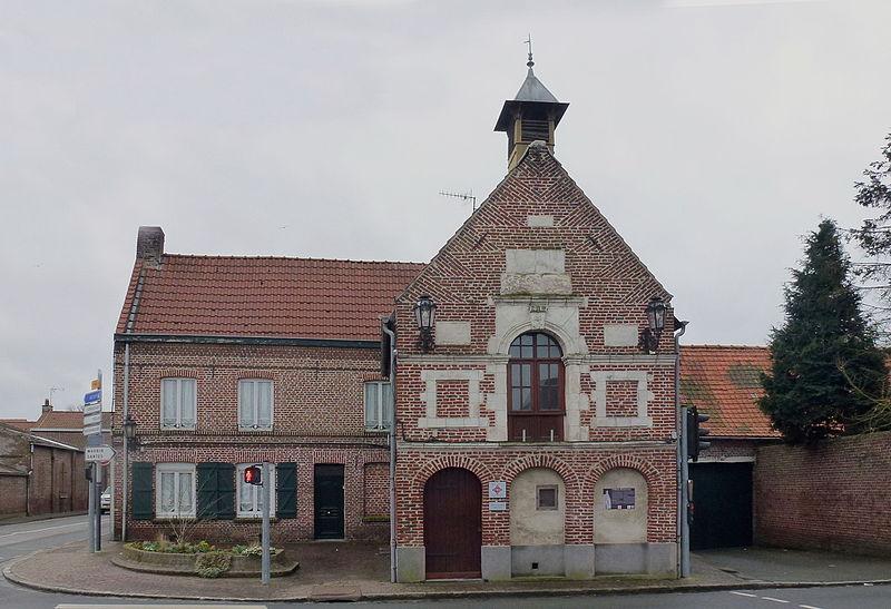 Photo du Monument Historique Ancien hôtel échevinal situé à Noyelles-lès-Seclin