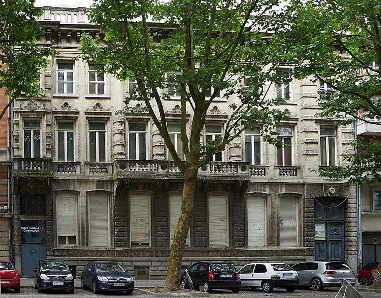Photo du Monument Historique Hôtel Catel-Béghin situé à Lille
