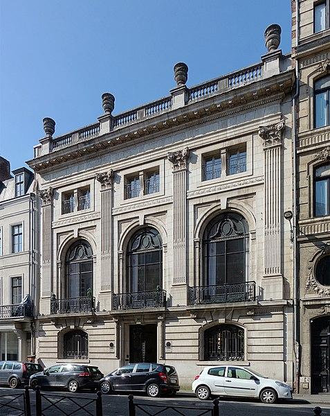Photo du Monument Historique Ancien siège social de la Société des Mines de Lens situé à Lille
