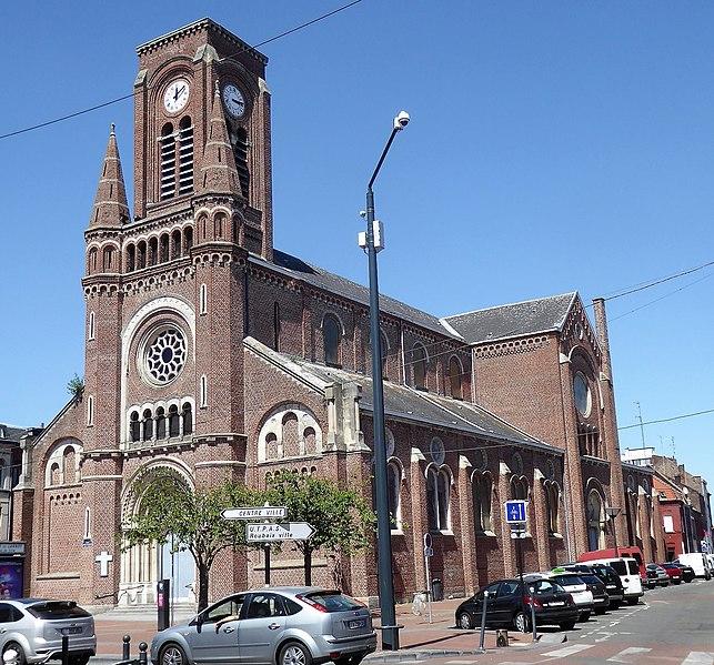 Photo du Monument Historique Eglise Sainte-Elisabeth de Hongrie situé à Roubaix