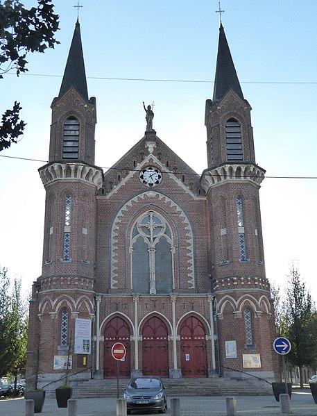 Photo du Monument Historique Eglise Saint-Jean-Baptiste situé à Roubaix