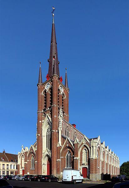 Photo du Monument Historique Eglise Notre-Dame de Fives situé à Lille