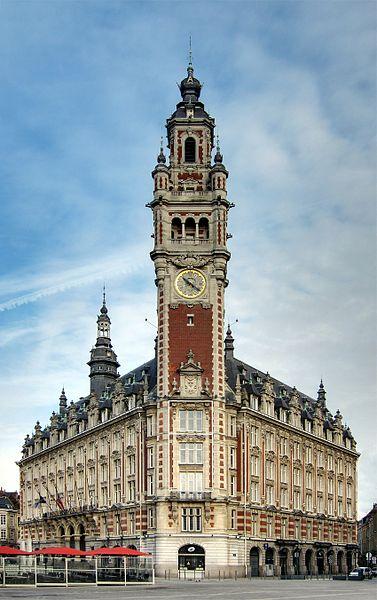 Photo du Monument Historique Chambre de Commerce et d'Industrie situé à Lille