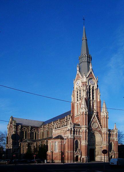 Photo du Monument Historique Eglise du Sacré-Coeur situé à Tourcoing