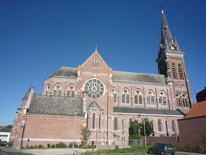 Photo du Monument Historique Basilique Sainte-Maxellende situé à Caudry