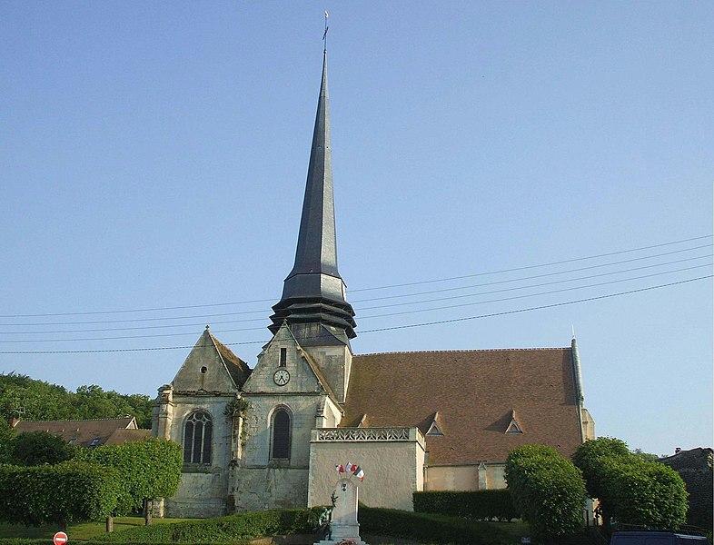 Photo du Monument Historique Eglise Saint-Martin situé à Amblainville