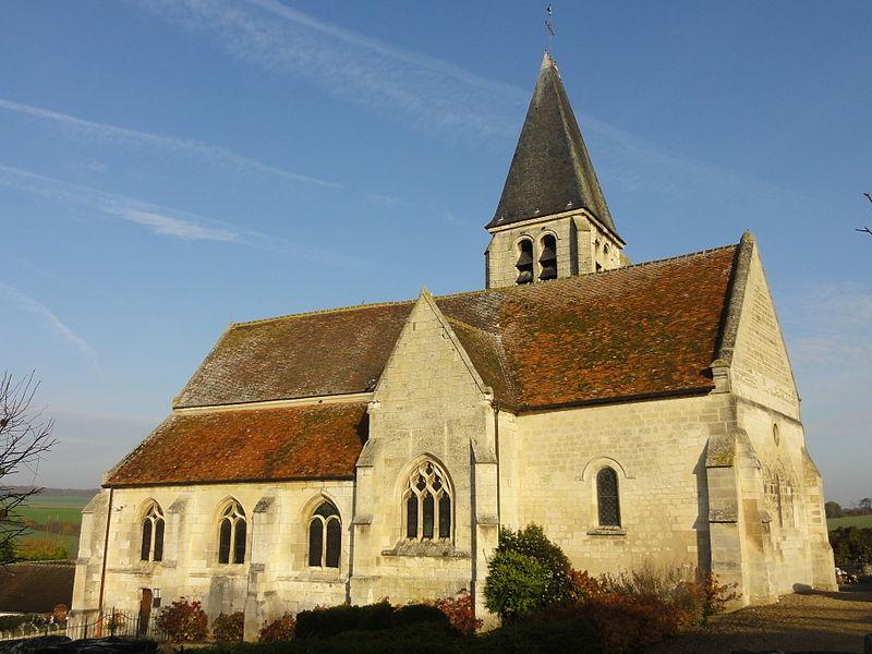 Photo du Monument Historique Eglise situé à Avrechy