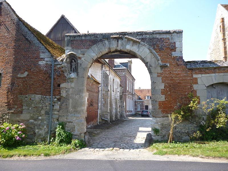 Photo du Monument Historique Ferme de Saint-Julien-Le-Pauvre situé à Bailleul-le-Soc