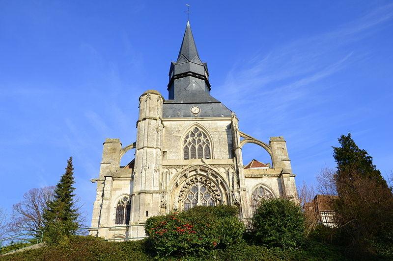Photo du Monument Historique Eglise Notre-Dame de Marissel situé à Beauvais