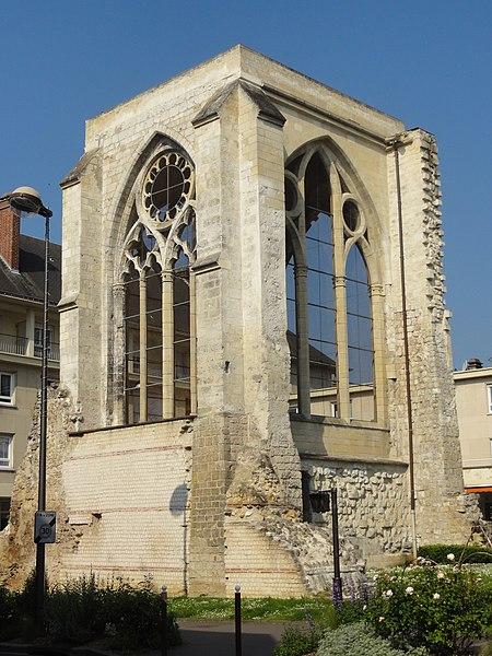 Photo du Monument Historique Ancienne église Saint-Barthelemy situé à Beauvais