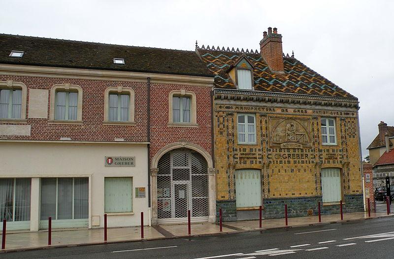 Photo du Monument Historique Maison Gréber situé à Beauvais
