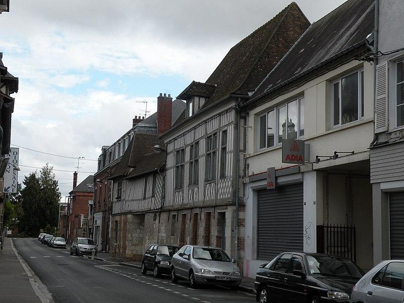 Photo du Monument Historique Maison situé à Beauvais