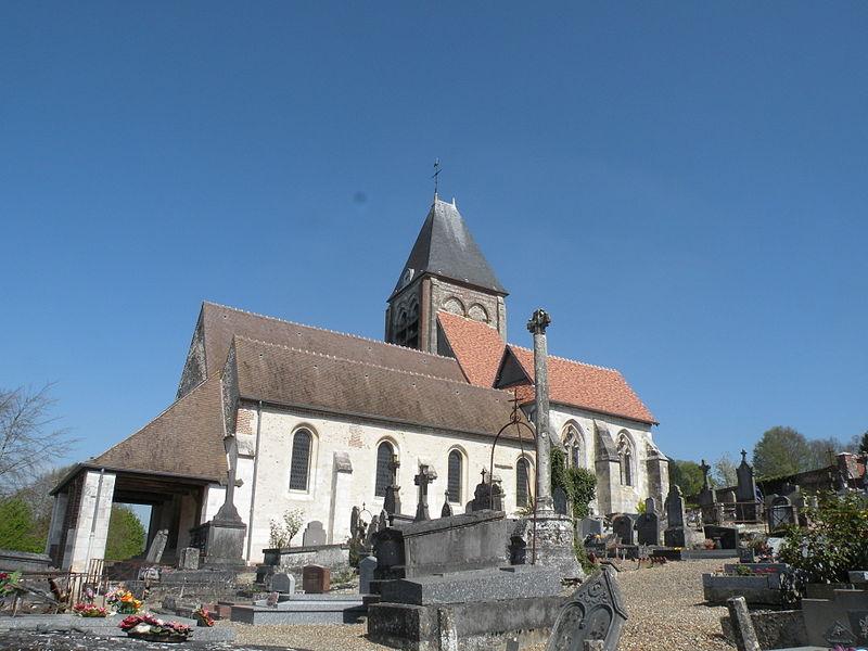 Photo du Monument Historique Eglise situé à Berneuil-en-Bray