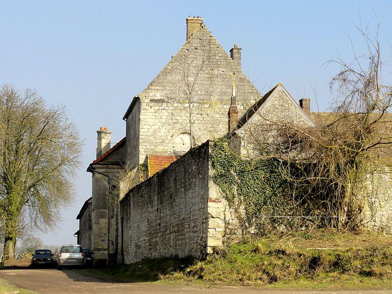Photo du Monument Historique Ferme de Sainte-Luce situé à Béthisy-Saint-Martin