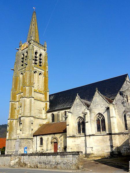 Photo du Monument Historique Eglise Saint-Pierre situé à Béthisy-Saint-Pierre