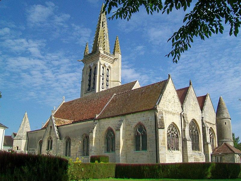 Photo du Monument Historique Eglise situé à Boran-sur-Oise
