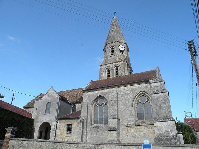 Photo du Monument Historique Eglise situé à Bouconvillers